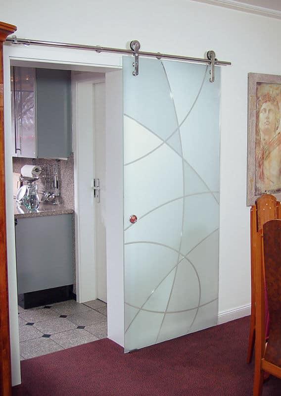 26 bonito puerta corredera cristal ba o im genes - Puertas de bano correderas ...
